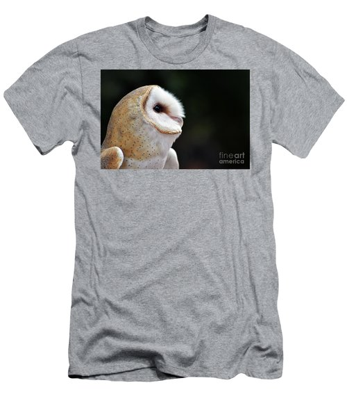 Barn Owl Men's T-Shirt (Athletic Fit)