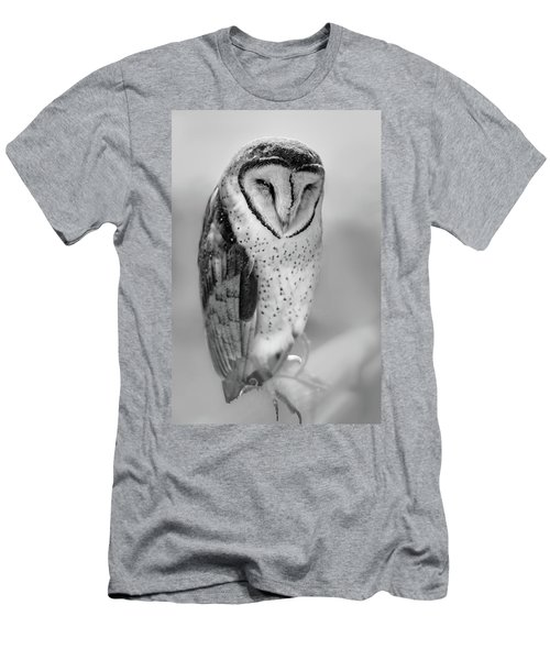 Barn Owl II Men's T-Shirt (Athletic Fit)