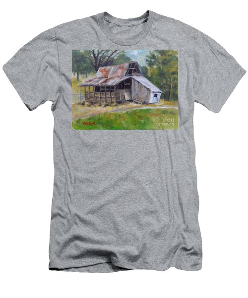 Barn Shack Men's T-Shirt (Slim Fit) by William Reed