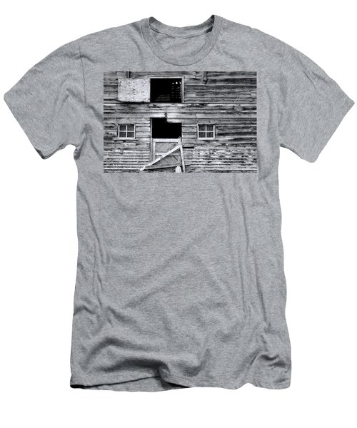Barn Texture Men's T-Shirt (Athletic Fit)