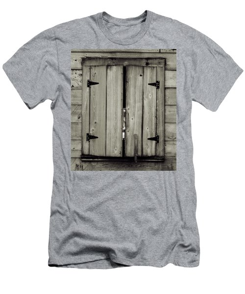 Barn Window Men's T-Shirt (Athletic Fit)