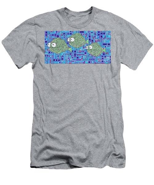 Barnacle Fish Men's T-Shirt (Athletic Fit)