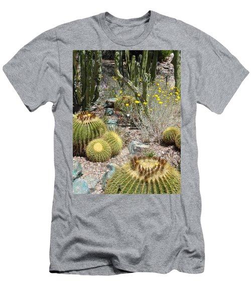 Barrels And Barrels Of Cactus Men's T-Shirt (Athletic Fit)