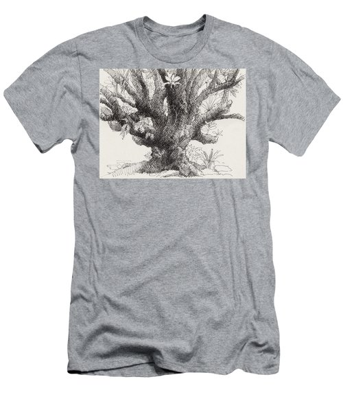 Barringtonia Tree Men's T-Shirt (Athletic Fit)