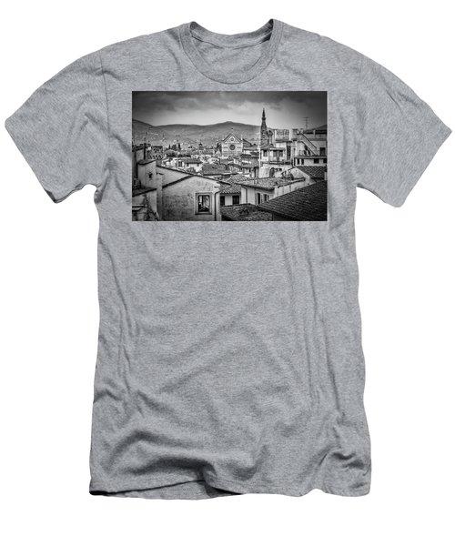 Basilica Di Santa Croce Men's T-Shirt (Athletic Fit)