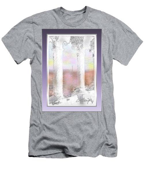 Sacre - Coeur Sunset Men's T-Shirt (Athletic Fit)