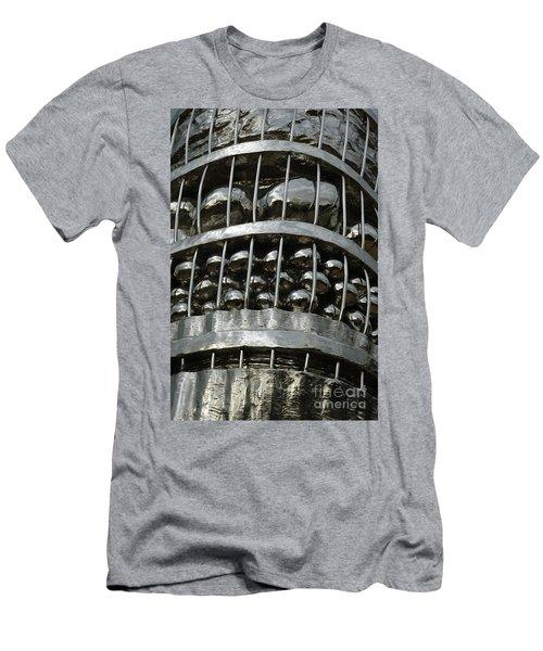 Basket Of Farmer's Produce. Men's T-Shirt (Athletic Fit)