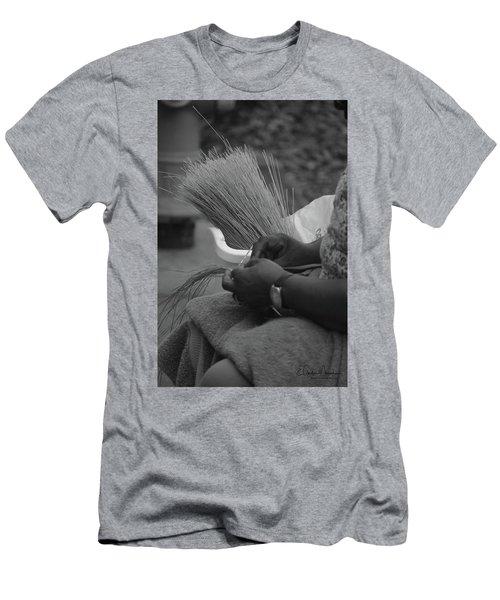Basket Weaver Men's T-Shirt (Athletic Fit)