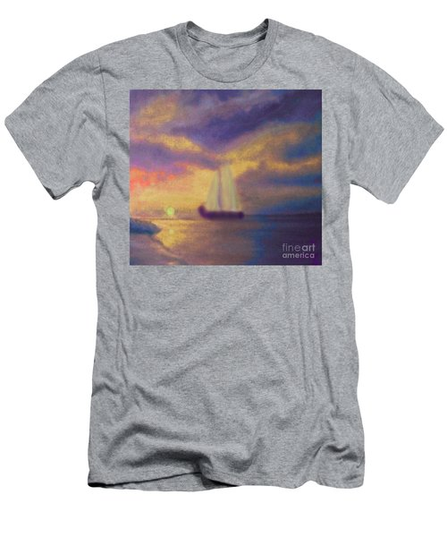 Basking In The Sun Men's T-Shirt (Slim Fit) by Holly Martinson
