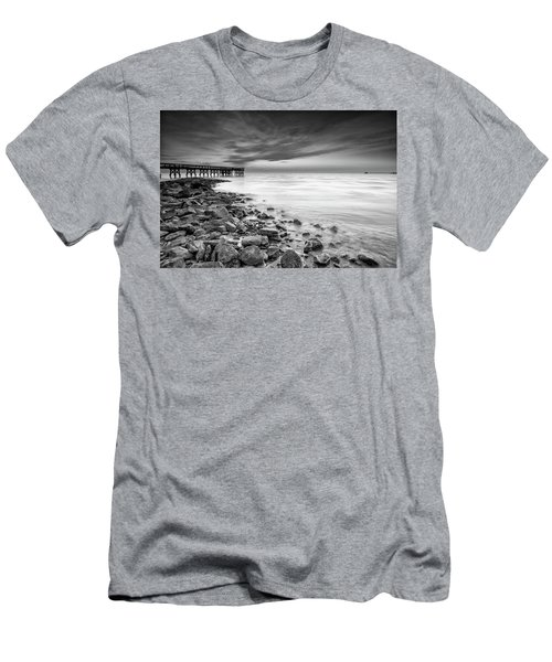 Men's T-Shirt (Slim Fit) featuring the photograph Bathe In The Winter Sun by Edward Kreis