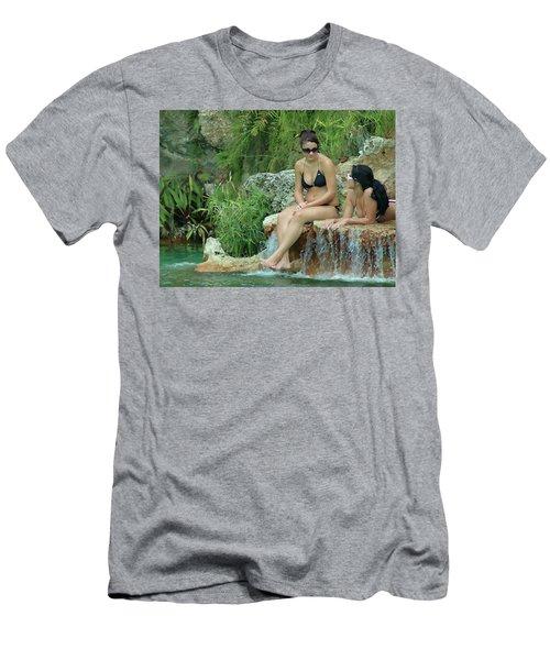 Bathing Beauties Men's T-Shirt (Athletic Fit)
