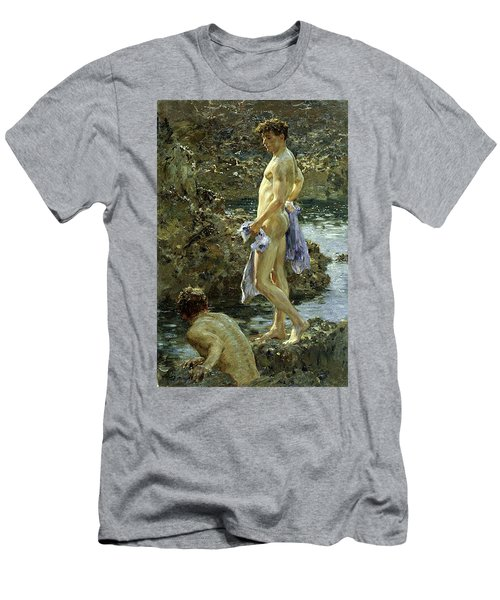 Bathing Group Of 1914 Men's T-Shirt (Athletic Fit)