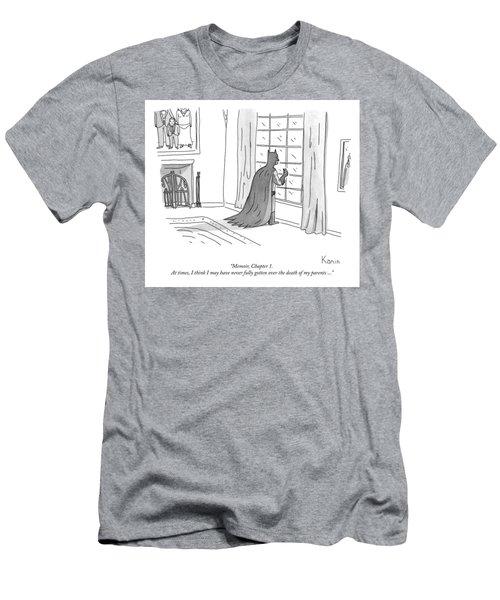 Batman Memoir Chapter 1 Men's T-Shirt (Athletic Fit)