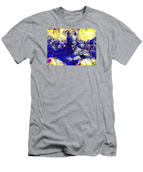 Men's T-Shirt (Athletic Fit) featuring the mixed media Batman 2 by Al Matra
