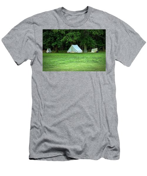 Battlefield Camp Men's T-Shirt (Athletic Fit)