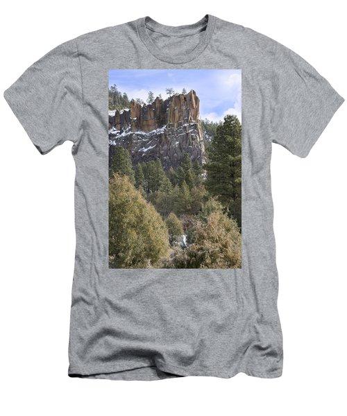 Battleship Rock Men's T-Shirt (Slim Fit) by Ricky Dean