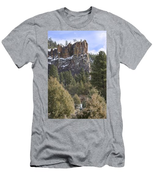 Battleship Rock Men's T-Shirt (Athletic Fit)