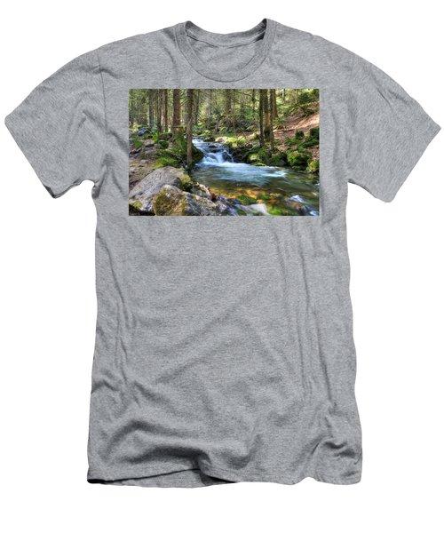Bavarian Stream Men's T-Shirt (Slim Fit) by Sean Allen