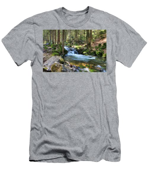 Bavarian Stream Men's T-Shirt (Athletic Fit)
