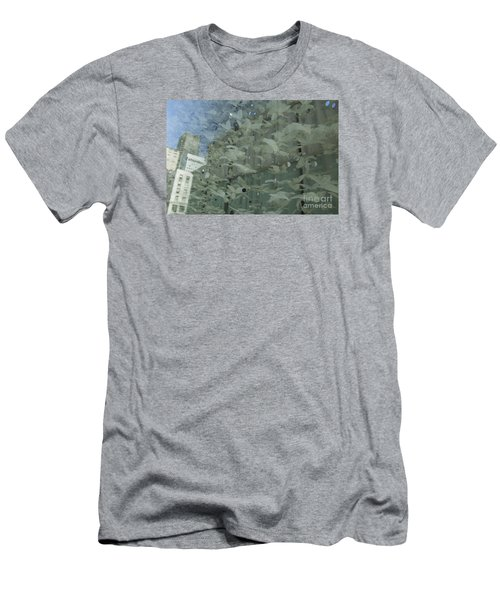 Men's T-Shirt (Slim Fit) featuring the photograph Bay City Reflections by Jeanette French