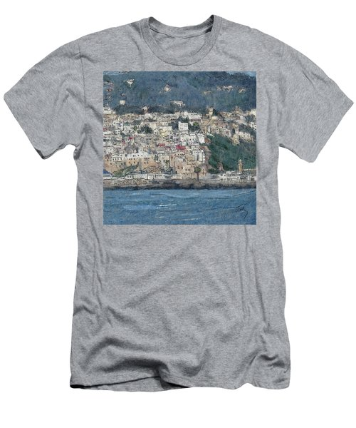 Bay Of Tangier Men's T-Shirt (Athletic Fit)