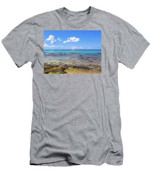 Bayahibe Coral Reef Men's T-Shirt (Athletic Fit)
