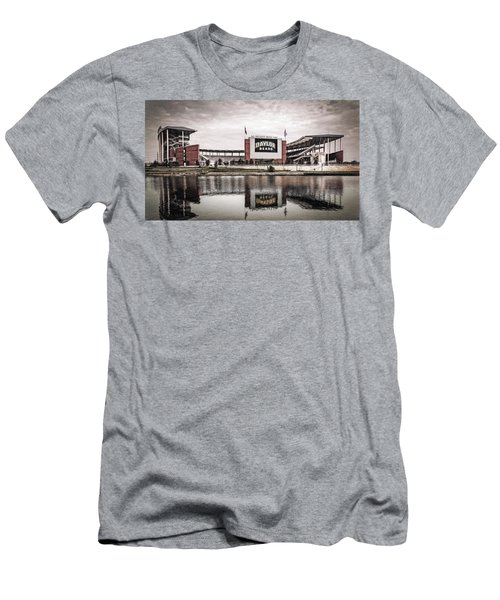 Football Stadium Sketch Men's T-Shirt (Athletic Fit)