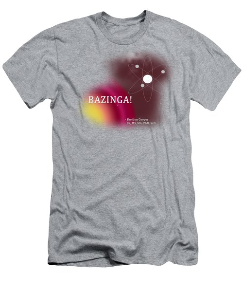 Bazinga Men's T-Shirt (Athletic Fit)
