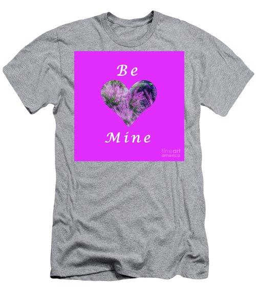 Be Mine Heart Men's T-Shirt (Athletic Fit)