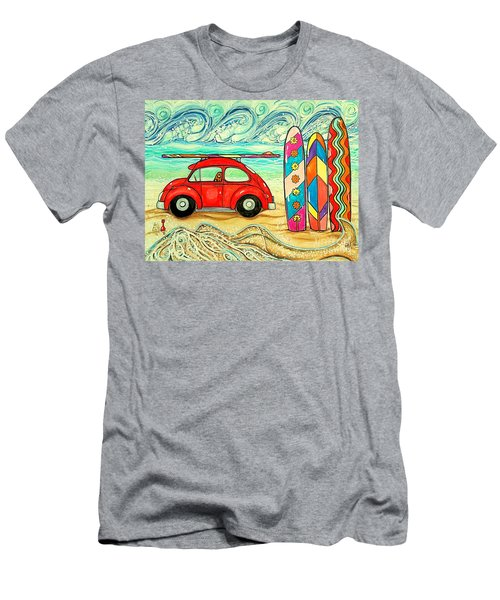 Beach Bug Men's T-Shirt (Athletic Fit)