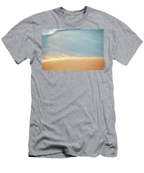 Beach Caress Men's T-Shirt (Slim Fit) by Glenn Gemmell