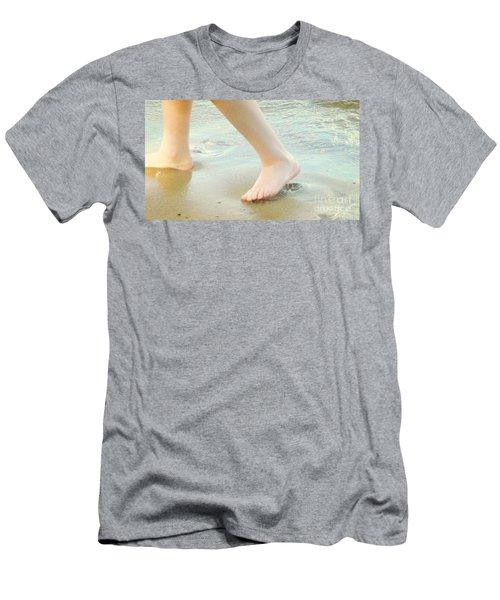 Beach Men's T-Shirt (Athletic Fit)