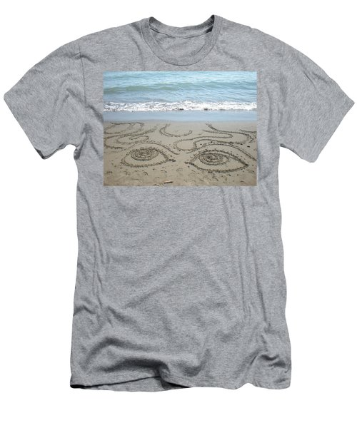Beach Eyes Men's T-Shirt (Athletic Fit)