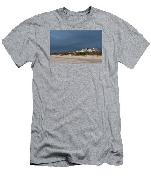 Beach Houses Men's T-Shirt (Athletic Fit)