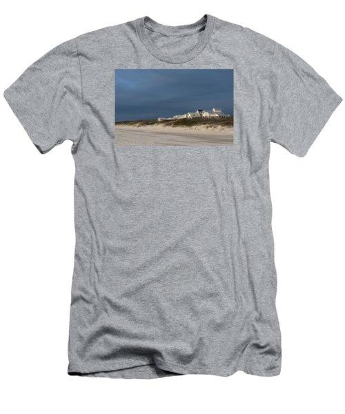 Beach Houses Men's T-Shirt (Athletic Fit)
