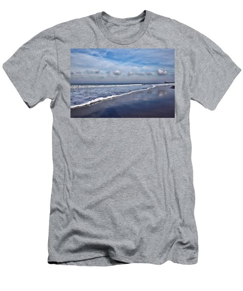 Beach Reflections Men's T-Shirt (Athletic Fit)