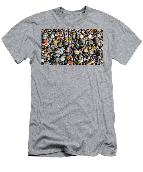 Beach Rocks Men's T-Shirt (Athletic Fit)