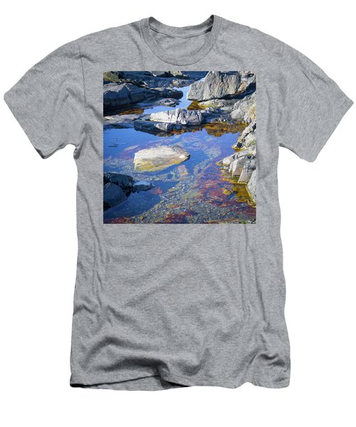 Beach Rocks Men's T-Shirt (Athletic Fit)