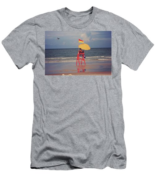Beach Sentinel Florida Men's T-Shirt (Athletic Fit)