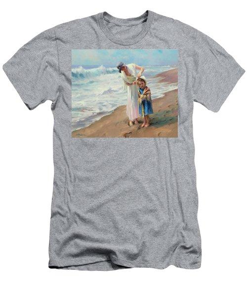 Beachside Diversions Men's T-Shirt (Athletic Fit)