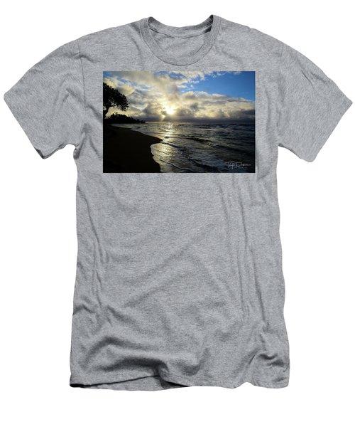 Beachy Morning Men's T-Shirt (Athletic Fit)