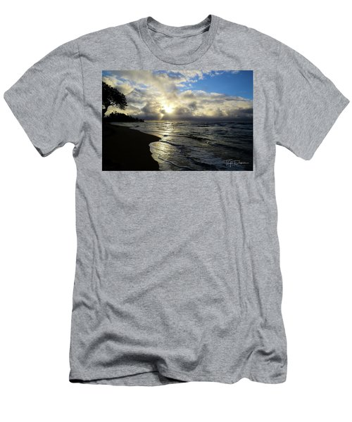 Beachy Morning Men's T-Shirt (Athletic Fit)