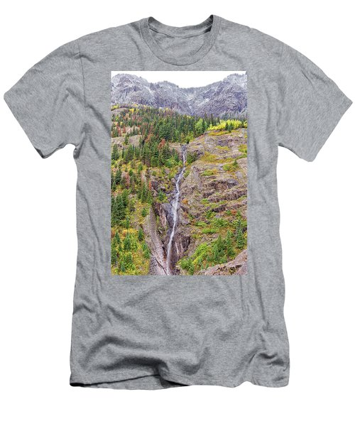 Bear Creek Falls Men's T-Shirt (Athletic Fit)