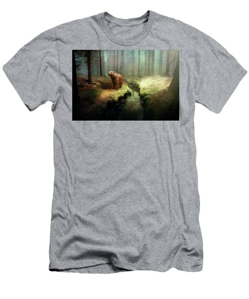 Bear Mountain Fantasy Men's T-Shirt (Athletic Fit)