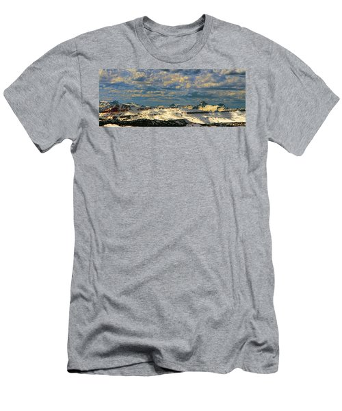 Bear Tooth Mountain Range Men's T-Shirt (Athletic Fit)