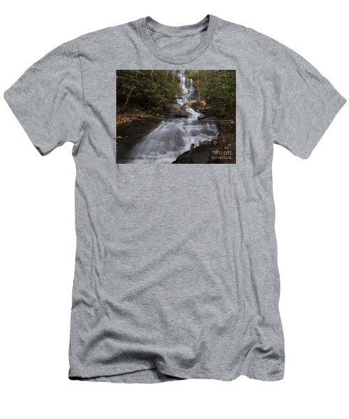 Bearden Falls Men's T-Shirt (Slim Fit) by Barbara Bowen