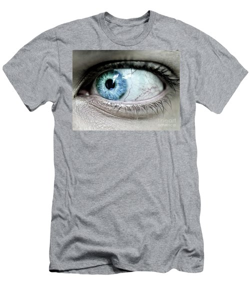 Beautiful Blue Eye Men's T-Shirt (Athletic Fit)