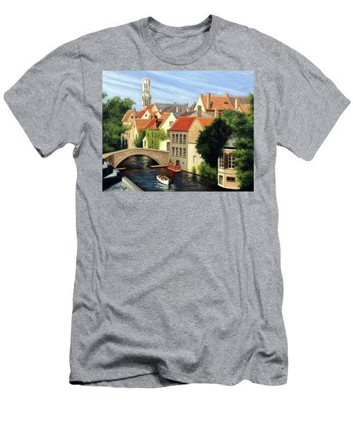 Beautiful Bruges Men's T-Shirt (Athletic Fit)