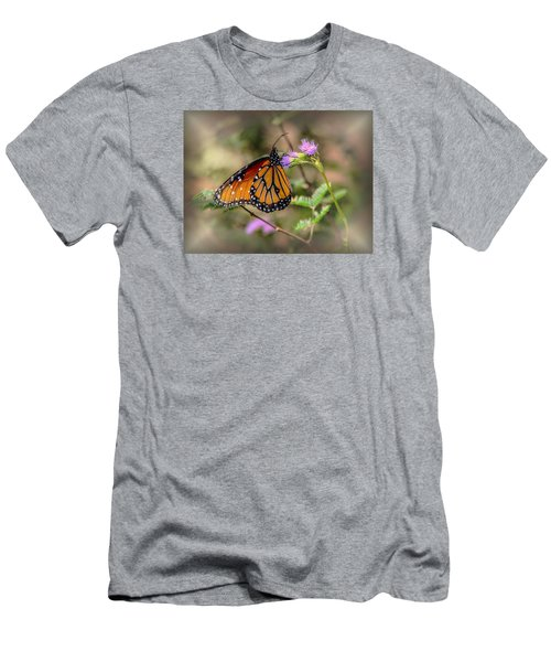 Beautiful Butterfly Men's T-Shirt (Slim Fit) by Elaine Malott
