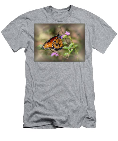 Beautiful Butterfly Men's T-Shirt (Athletic Fit)